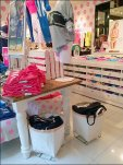 Victoria's Secret Wire-Frame Canvas Bins