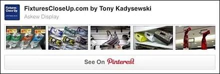 Askew Display Pinterest Board