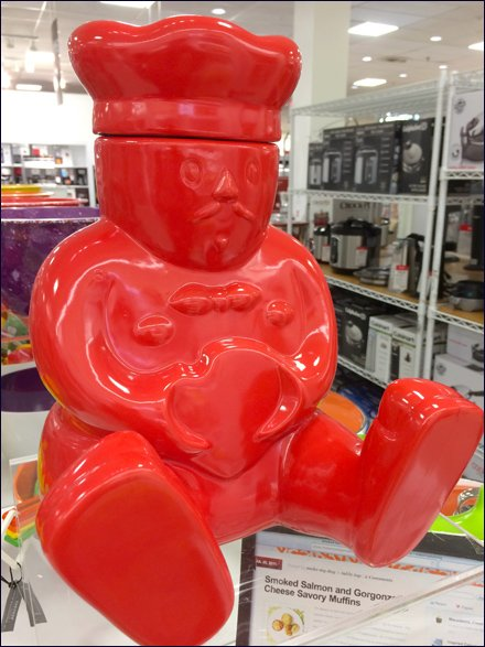 Baker's Buddha Meditates Cookie Jar