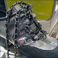 Chanel Shoe in Chains 1