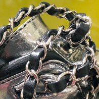 Chanel Shoe in Chains 3