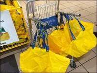 IKEA Bag Cart for Shopping