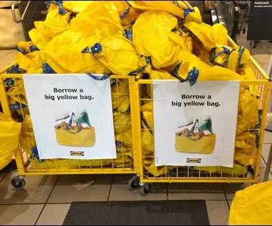 IKEA Borrow a Big Yellow Bag Main