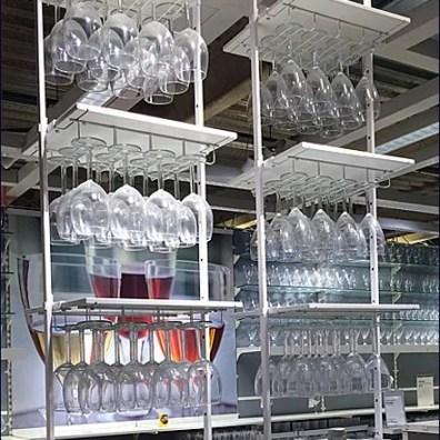 IKEA Ceiling Hung Glassware Main