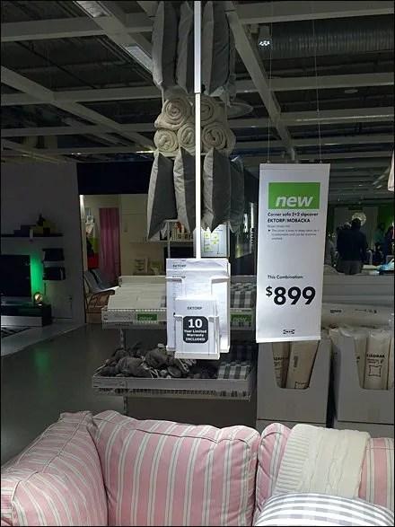 IKEA Ceiling-Hung Literature Rack
