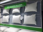 IKEA Clothes-Pinned Pillow Merchandising Detail