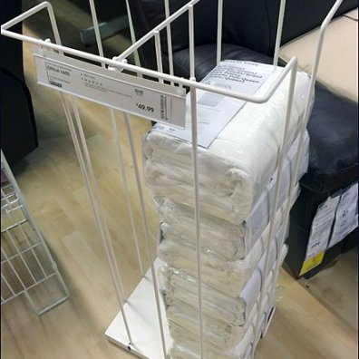 IKEA Floor Stand Linen Tower