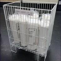 IKEA Floor Stand Mattress Protector Bin Main
