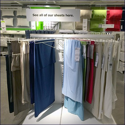 IKEA Swing Arms for Linens