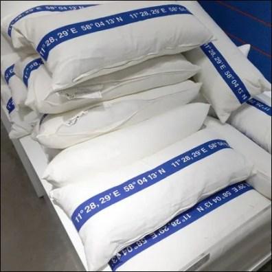 IKEA Pillow Longitude and Latitude Main