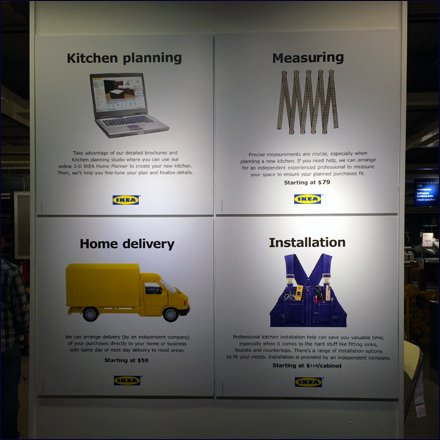 IKEA Selling Extra Services All