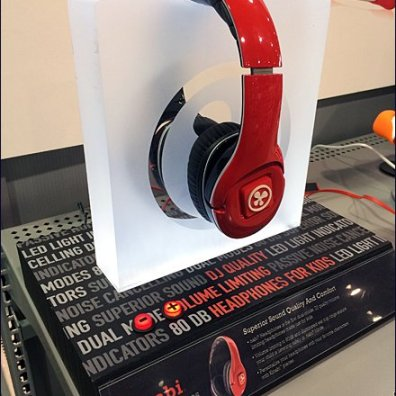 Nabi Frosted Headphone Wave Stand Main