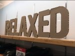 Relaxed Corrugated Silhouette Signage