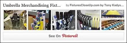 Umbrella Merchandising Fixtures Pinterest Board
