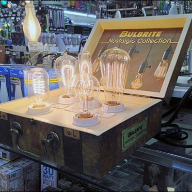 Bulbrite Vintage Valise Counter Display POPON.net Main
