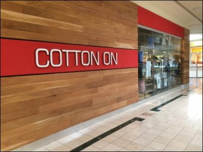 Cotton On Store Entry Branding 1