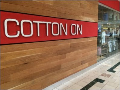 Cotton On Store Entry Branding 2