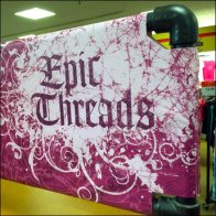 Epic Thread Fabric Banner CloseUp