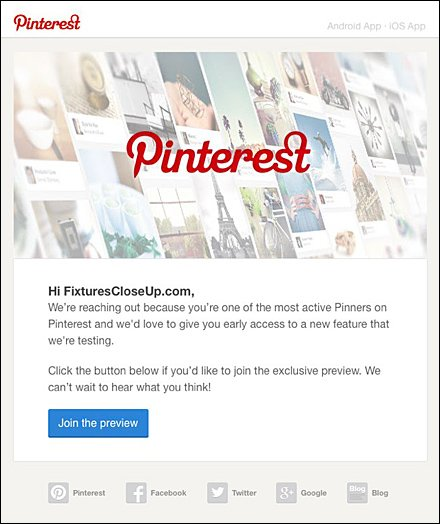 FixturesCloseUp Top Pinner on Pinterest