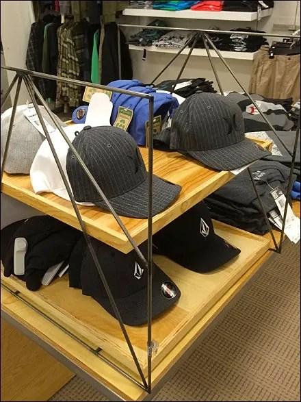 New Era Slat Wall Hat Trays