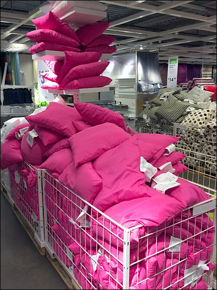 IKEA Ceiling Rack for Pillows