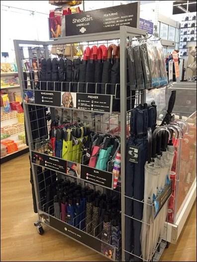 ShedRain Umbrella Display Excellence
