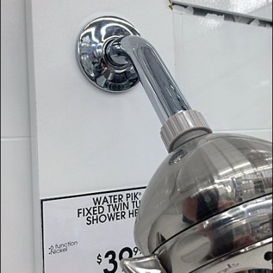 Shower Head Slatwall Hook