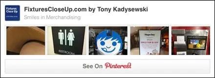 Smiles in Merchandising Pinterest Board