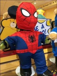 Build-A=Bear Spiderman 3