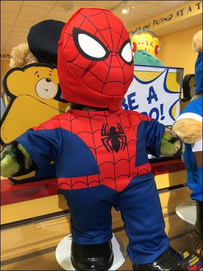 Build-A=Bear Spiderman 3