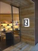 Fendi Logo Entwined Retail Branding