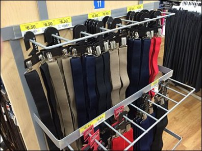 Guarded Suspender Multi-Hook Rack 1