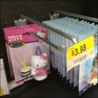 Hello Kitty 1 Piece Straight Entry Hook Main