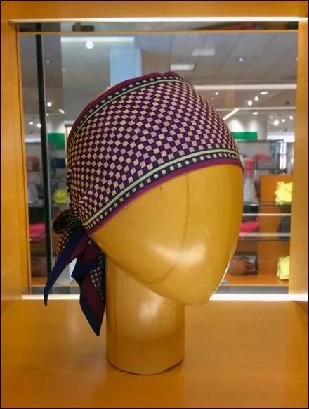Louis Vuitton Scarf Headform Stag Main