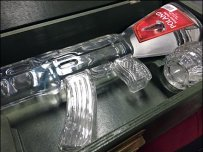 Retailing Vodka by the Shot of Polish Vodka in AK-47 Ammunition Crate Main