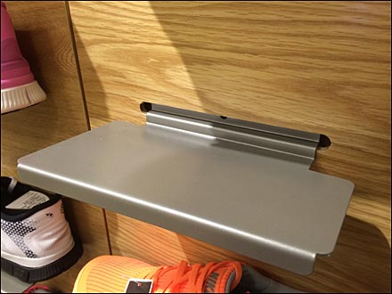 Slat Wall Shoe Ledge 4