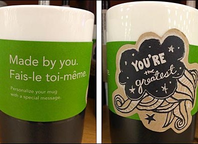 Starbucks Personalized Coffee Mug Sale Aux