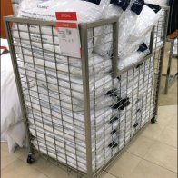 Tom Hilfiger Pillow Bulk Bin on Wheels Main