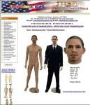 Barack Obama Mannequin Store Fixtures USA 2