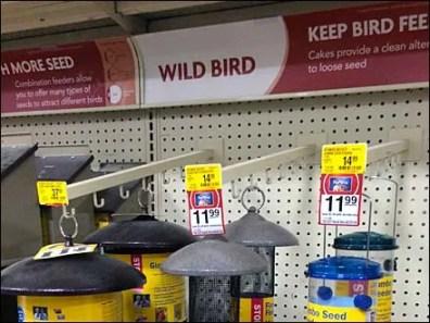 Bird Feeder J-Hook Faceouts
