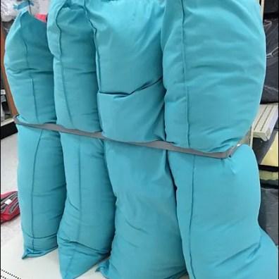 Body Pillows in Endcap Space Frame Main