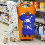 Flexicart Euro Shopping Trolley - Flexicart Rear Wheels Clive Williamson