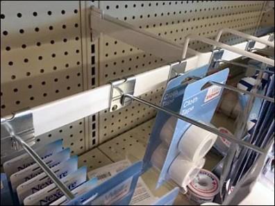 Hook and Shelf Facing Match 2