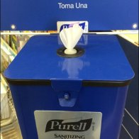 Purell Dispensers and Wipes - Purell Sanitizing Wipes Branded Station Main