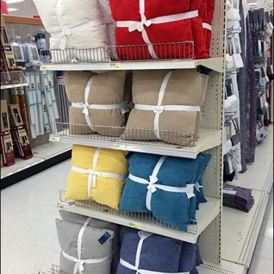 Ribbon Tied Throw Pillows Overall