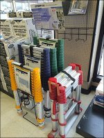 Telescoping Ladder Color Codes