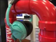 Bose Headphone PVC Pipe Dream Display