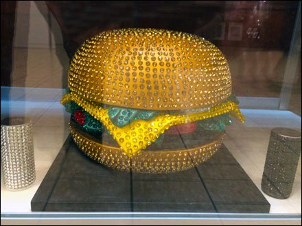 Retail Glitz and Display Glitz - Hunger for Rhuinstone Hamburger Front