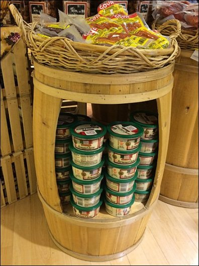 Keg Cut-Out Display Adds Retail Space