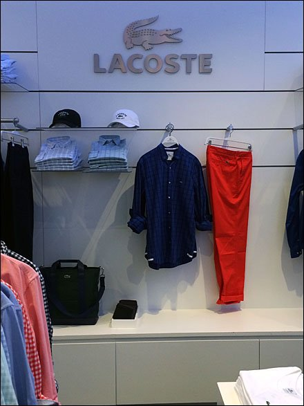 Lacoste Dept Branding Overall